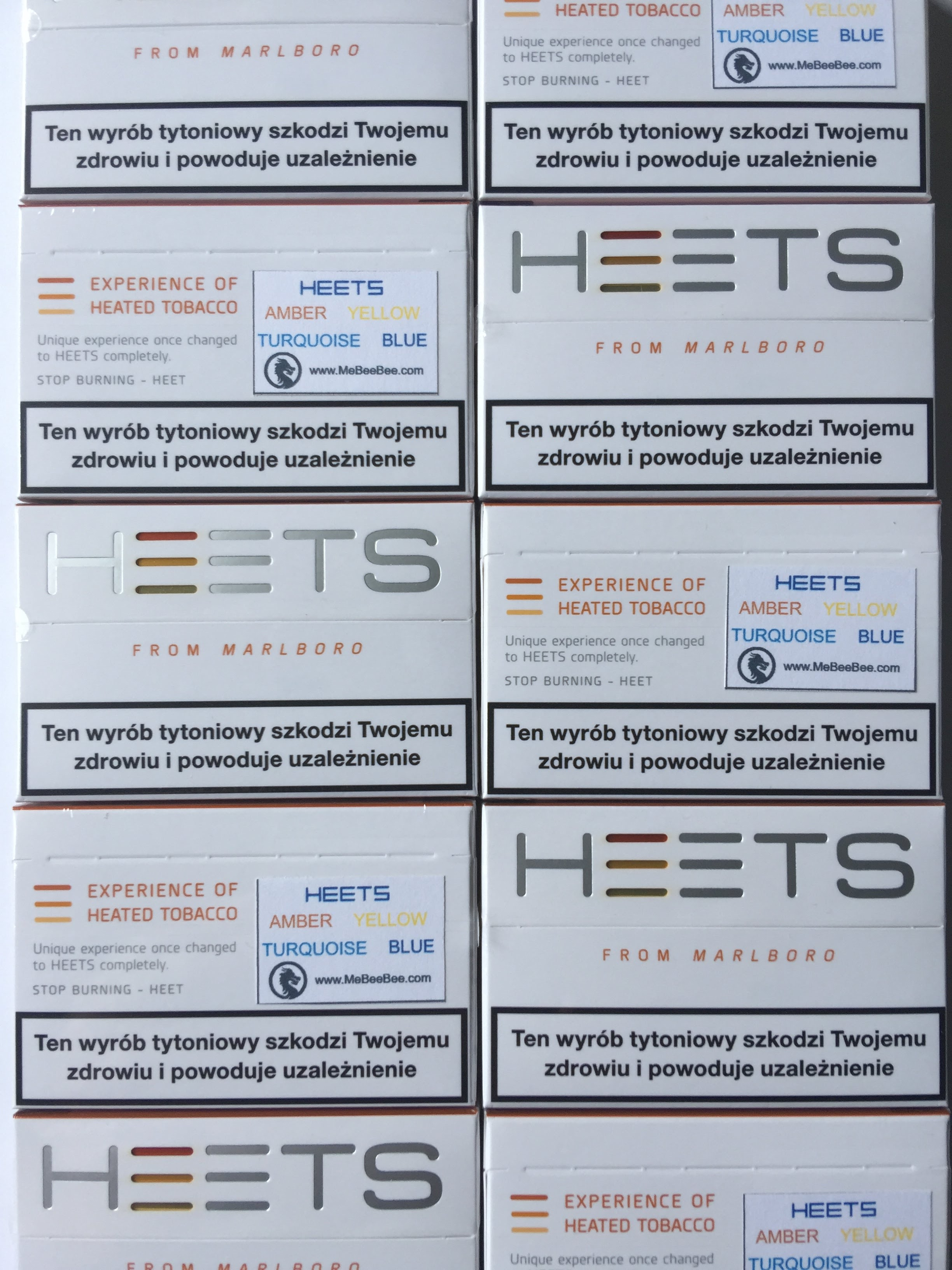 IQOS Amber Label Heet Stick 1 Box Genuine product from EU